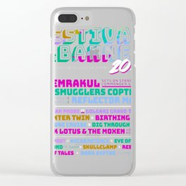 Festival of the Banned 2017 Clear iPhone Case