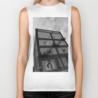 montreal Biker Tanks featuring Screaming Eagle Montreal  by Affinity for Light