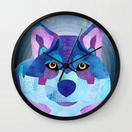 SHANTI SPARROW: Shadow the Wolf Wall Clock
