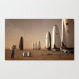 Visionary Pioneers Canvas Print