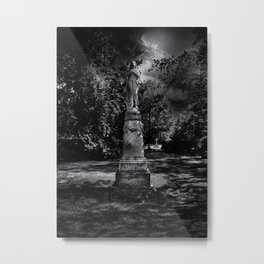 Tombstone Shadow No 2 Metal Print