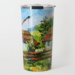 House in the village # 3 Travel Mug