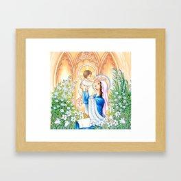 May Coronation Framed Art Print