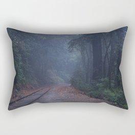 Blue Shadows Rectangular Pillow