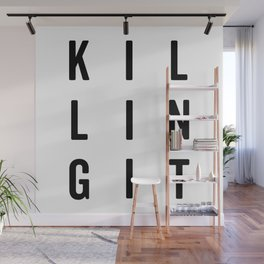 Killing It Gym Quote Wall Mural