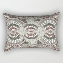 Mandala-la-la Collab Rectangular Pillow