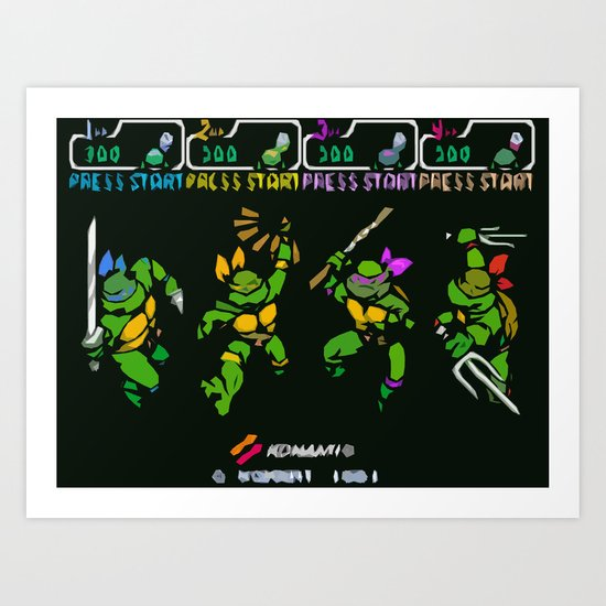 Select Your Turtle Art Print