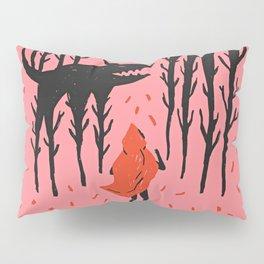 She persists - Wood Cut Art Work Pillow Sham