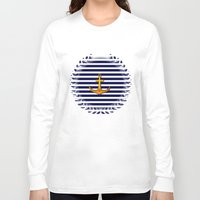 marine Long Sleeve T-shirts featuring Marine by Elena Indolfi