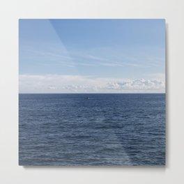 Lonely sea Metal Print