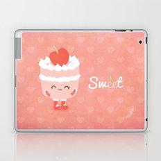 Sweet Cherry Cake Laptop & iPad Skin