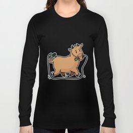 fitness cow Long Sleeve T-shirt