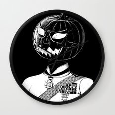Sir Halloween Wall Clock