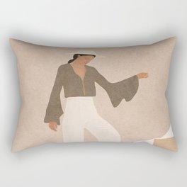 Stepping Up Rectangular Pillow