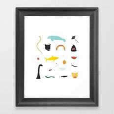 Great Gathering Framed Art Print