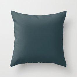 Plain  simple grey Throw Pillow