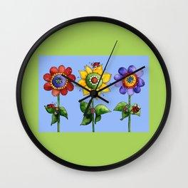 The Three Amigos I Wall Clock