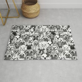 just dogs Rug
