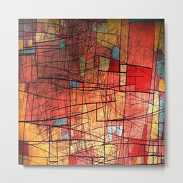 COLOR LINES Metal Print