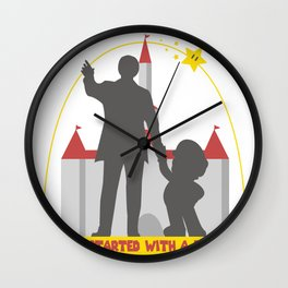 Super Partners Wall Clock