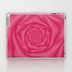 Spiral Rose in Pink Laptop & iPad Skin
