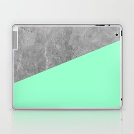 Geometry 101 Mint Meringue Laptop & iPad Skin