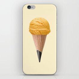 ICE CREAM PENCIL iPhone Skin