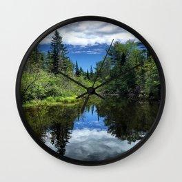 Idaho Reflections Wall Clock