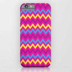 bright chevron iPhone 6 Slim Case