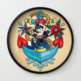 Sailor Mermaid Wall Clock