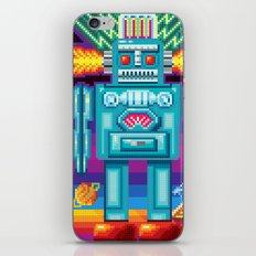 Pixel Robot iPhone & iPod Skin