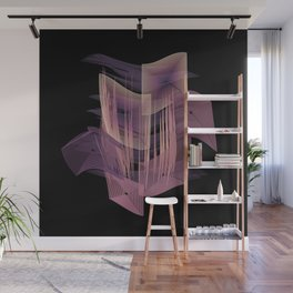 Pleased by Purple Wall Mural