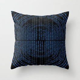 Binary Code Throw Pillow