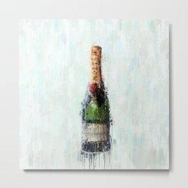 Champagne Time Metal Print