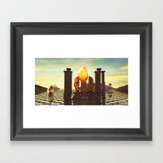 The Golden Age Framed Art Print