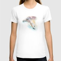 swimming T-shirts featuring Swimming by Petra