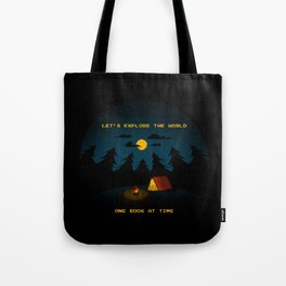 Let's Explore the World Tote Bag