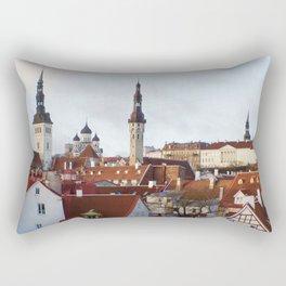 Historic Tallinn, Estonia Rectangular Pillow