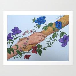 Overgrowth Art Print