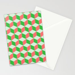 Christmas Escher Print Stationery Cards