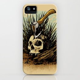 Prepare your hearts for Death's cold hand! iPhone Case
