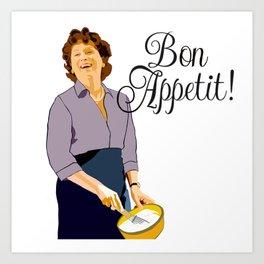 Bon appetit! Art Print