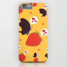 the death loves the strawberry iPhone 6s Slim Case