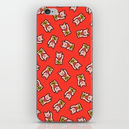 Lucky Pig Pattern iPhone Skin