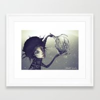 edward scissorhands Framed Art Prints featuring Edward Scissorhands by Antonio Lorente