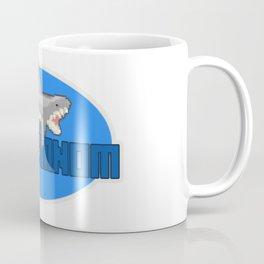 Shark NomNomNom - PixelArt Coffee Mug
