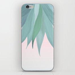 Delicate Agave Fringe Illustration iPhone Skin