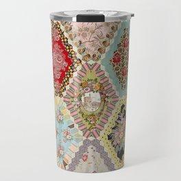 13-Panel Hexagon Quilt Travel Mug