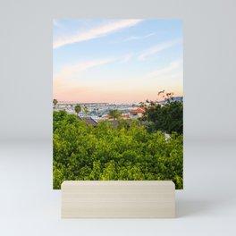 Sunset in San Diego Mini Art Print