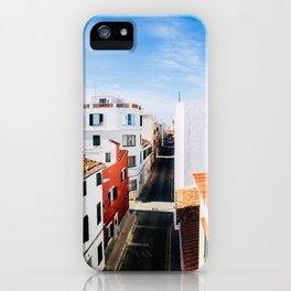Maó, Menorca. iPhone Case